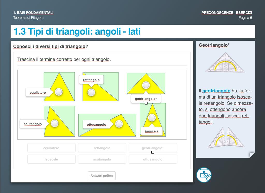 Tipi di triangoli: angoli - lati