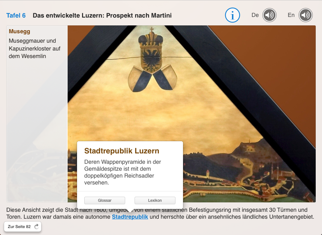 Giebelbilder Kapellbrücke Luzern Stadtrepublik